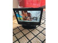 Small TV built in DVD player freeview