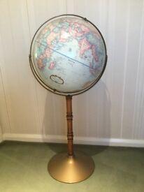 Large World Globe