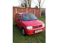 Daihatsu cuore 1.0 automatic genuine low mileage 16,000 only. S/H, PAS, long Mot, auto,