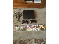 Playstaion 3 320GB plus 5 games 2 controllers