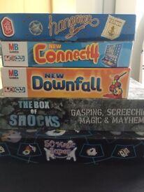 Kids assorted games.