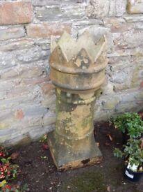 Victorian Crown Top Chimney Pot (Planter).