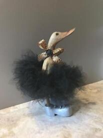 Wooden Tutu Duckling