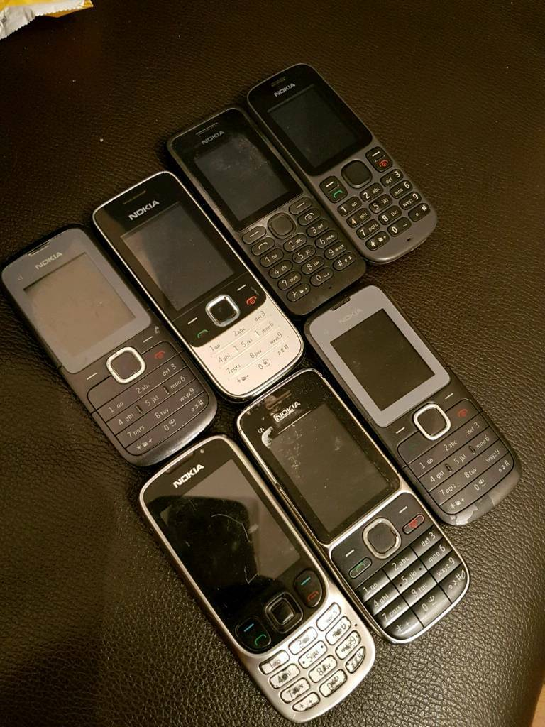 Job lot 7 Nokia