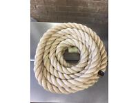 Decking rope, 40mm x 10m, brand new, garden rope, outdoor rope, synthetic rope