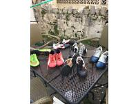 Boys size 5.5 & 6 boots + Astro trainers