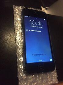 apple iphone 5 black slate 16 gig gb ee orange t mobile like new virgin old ios 7.12
