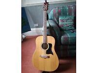 Tanglewood acoustic guitar