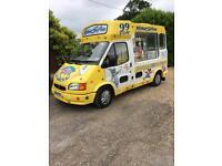 Ice Cream Van only 63000 miles