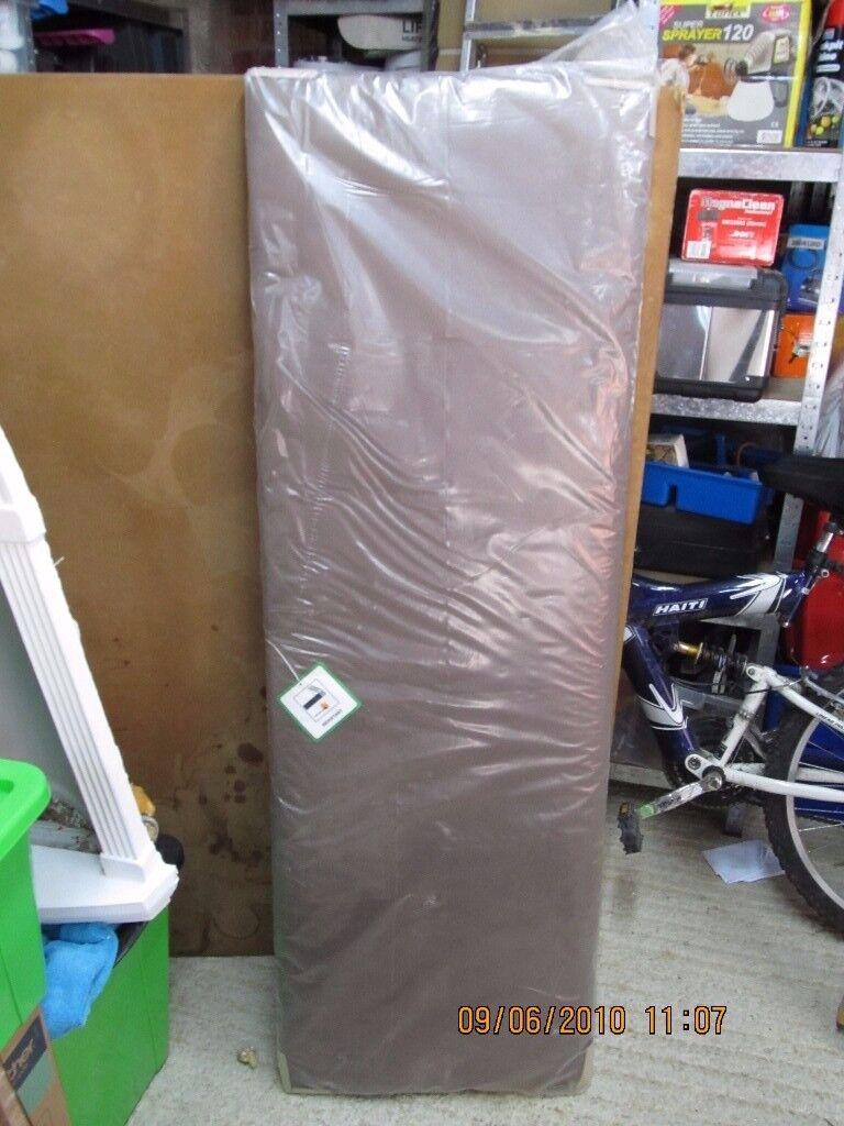 brown swade headboard [new still in packaging]