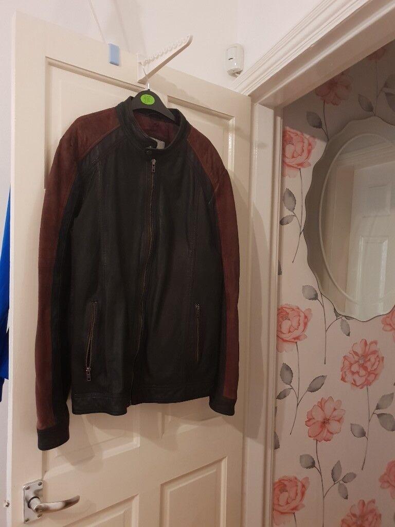 Lakeland leather Jacket size 42 ex cond