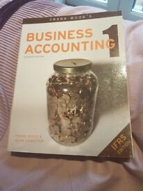 Frank Wood Business Accounting book