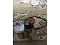 A mini foot pump