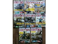8 issues of Military History Monthly