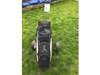 Ping golf bag + trolley