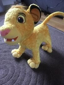 The Lion King Simba Interactive Toy