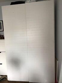 Large White Ikea wardrobe