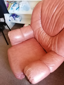 Free sofa armchair leather