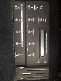 Fvb 6 line pedal board