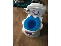 Singing Toilet potty