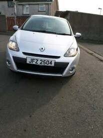 2012 Renault Clio 1.2iplay 68k low miles