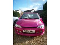 Extensively modified Peugeot 106 GTI, PINKY