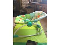 Bright start baby chair / rocker