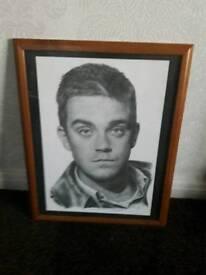 Robbie Williams print