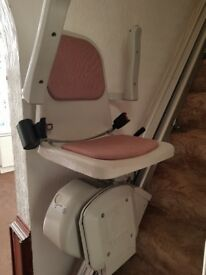 ACORN STAIR LIFT for Private Sale suits straight staircase only.