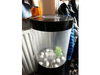 BIUBE CYLINDER TROPICAL AQUARIUM/FISH TANK
