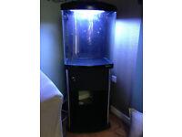 TL-550 - Marine Nano Fish Tank - 128 Litres PL Lighting