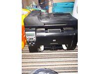 Hp laserjet 100 colour mfp 3 in 1 printer.