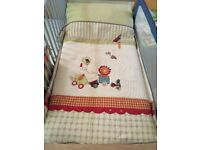 Mamas and Papas Jamboree coverlet and pillow case