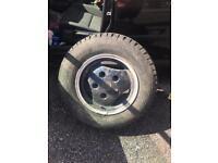 Range Rover alloy