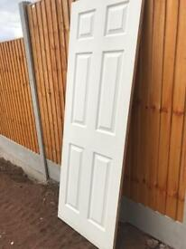 Internal Moulded Door White Primed Smooth 6 Panel
