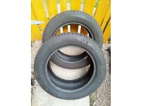 Two 205 55 16 Michelin tyres
