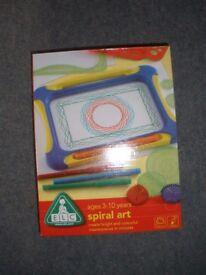 Children's Toy: ELC Sprial Art. Brand New.