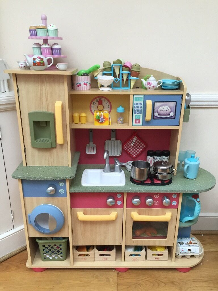 Little Tikes Premium Wooden Kitchen Playset And Accessories