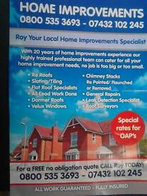home improvements roofing .