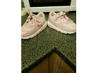Girls nike trainers infant size 6.5