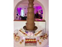 Candy floss Hire, chocolate fountain, popcorn, hotdogs, bouncy castle, slush, sweet cart, ferrero
