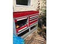 Van storage shelf/ rack heavy duty