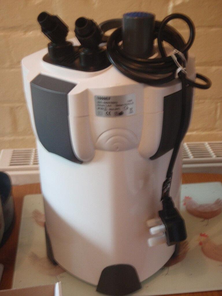 Brand New Aquarium Canister Filter 1000 Litres/Hour
