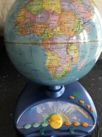 Leaofrog Globe. Ideal for Christmas present. Tells distances. Capital cities etc