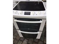 ZANUSSI 60cm FREE STANDING ELECTRIC COOKER, 4 MONTHS WARRANTY