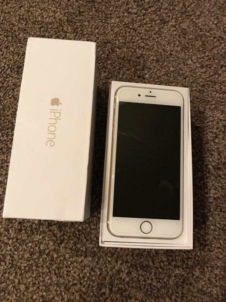 Gold iPhone 6 16GBin North Shields, Tyne and WearGumtree - Excellent Condition, not a scratch on it.Comes Boxed With Charger On EE Network Pick up North Shields