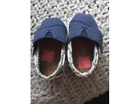 Baby boys Toms shoes - size uk 3 and uk 4