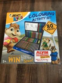 BIC colouring set