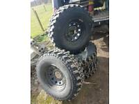 Insa Turbo 265/75/16 Off Road Tyres