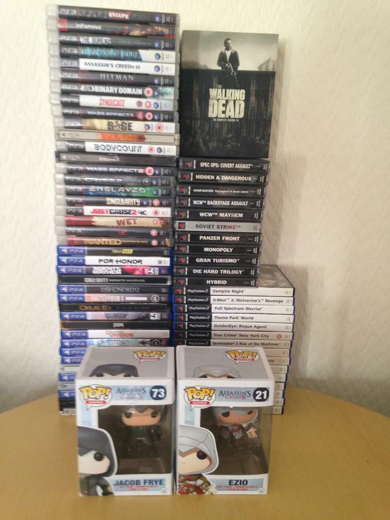 Huge gaming and blu ray bundle £75 B24 | in Erdington, West Midlands |  Gumtree